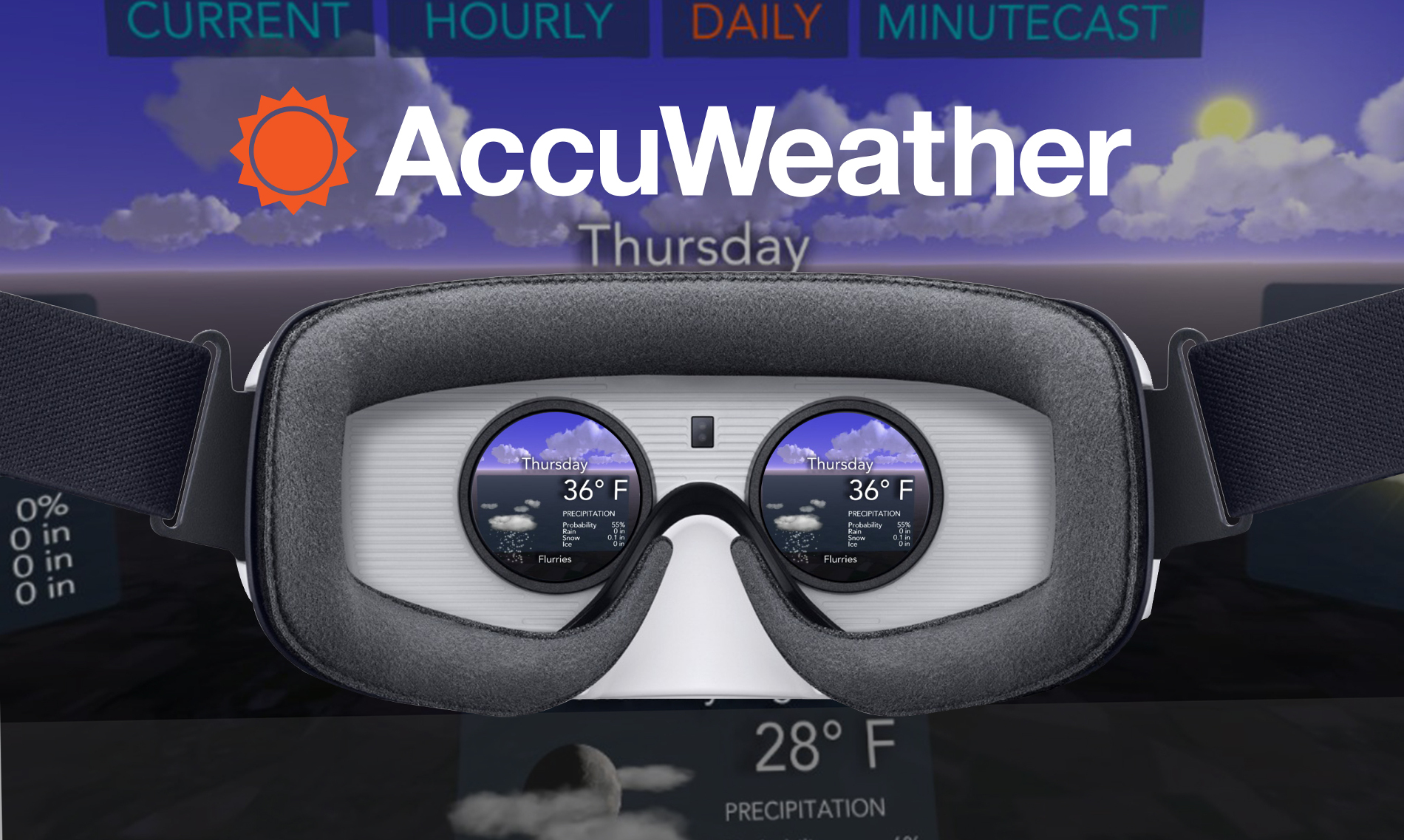accuweather vr app
