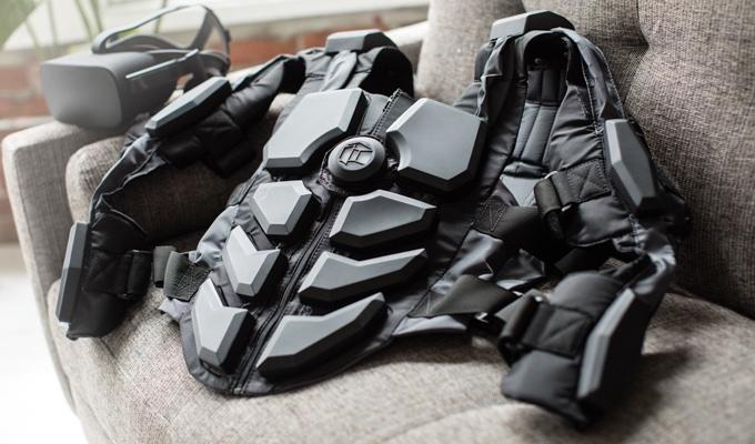 Hardlight VR Vest