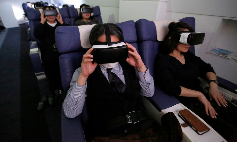 TheVRBase First Airlines Japan VR Holidays